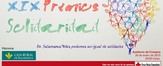 Premios Solidaridad Cruz Roja Salamanca 2014